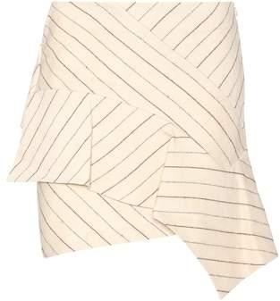 Isabel Marant Kimura linen and wool skirt