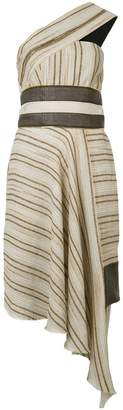 Sophie Theallet striped asymmetric dress