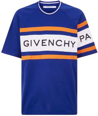 Givenchy Oversized Logo Band T-Shirt