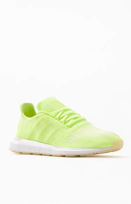 fb8b6fb8e adidas Neon Yellow Swift Run Shoes