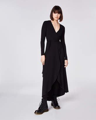 Nicole Miller Maxi Wrap Dress
