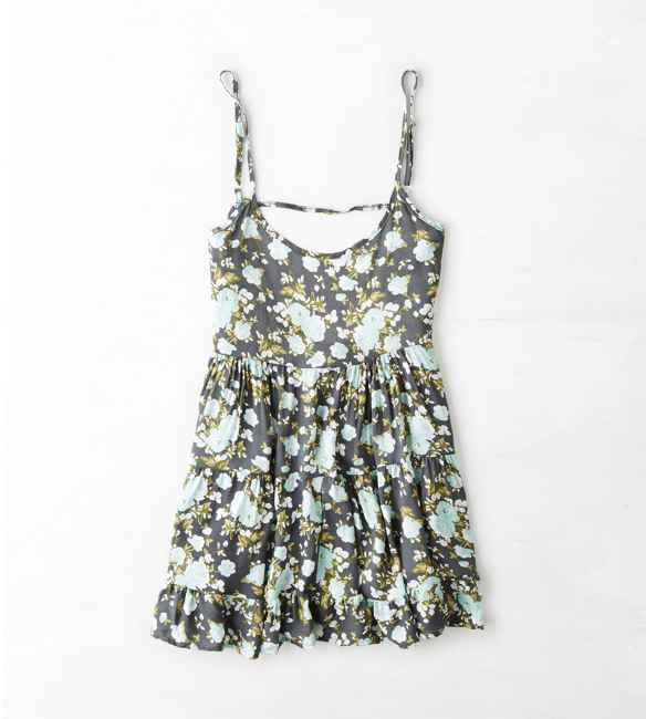 American Eagle Don't Ask Why Babydoll Dress