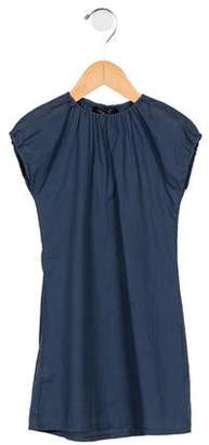 Album di Famiglia Girls' Short Sleeve A-Line Dress