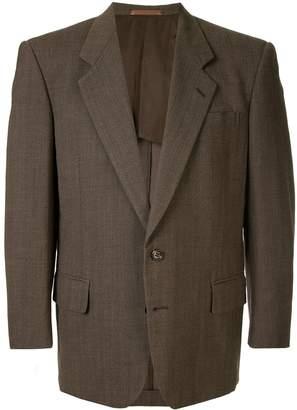 Comme des Garcons Pre-Owned structured shoulders blazer