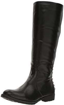 Gia Mia Women's Knee High Studded Boot