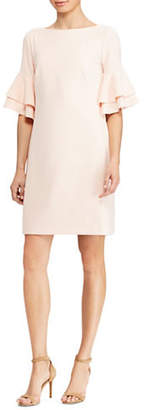 Lauren Ralph Lauren Tiered Ruffle Sleeve Dress