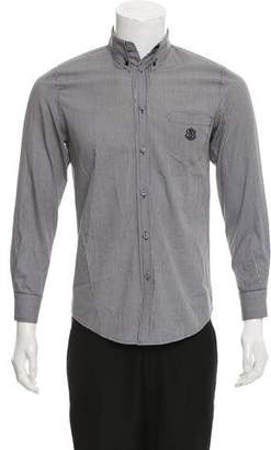 Balenciaga Gingham Button-Up Shirt