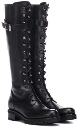 Duncan leather boots