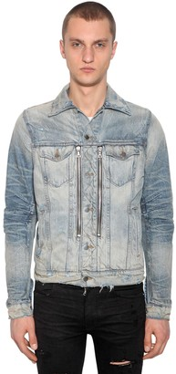 Amiri Zip Mx2 Cotton Denim Jacket