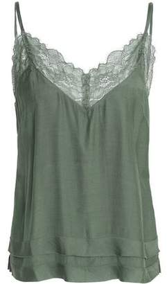 Love Stories Lace-Trimmed Satin Camisole