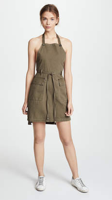 Alexander Wang Cotton Twill Apron Dress