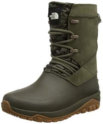 The North Face Women's Yukiona Mid High Boots Tarmac Green 5tl, (39.5 EU)