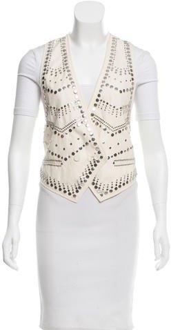 3.1 Phillip Lim3.1 Phillip Lim Wool-Blend Embellished Vest