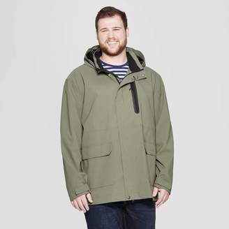 Goodfellow & Co Men's Big & Tall Elevated Rain Jacket - Goodfellow & Co Olive