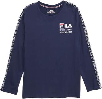 Fila International Logo Tape T-Shirt