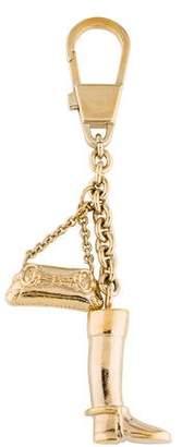 Gucci Boot & Bag Keychain