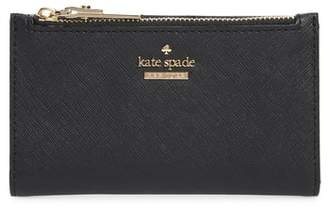 Kate Spade Cameron Street - Mikey Crosshatched Leather Wallet