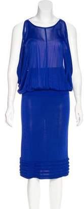 Yigal Azrouel Cutout Midi Dress