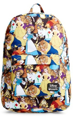 Girl's Loungefly Disney Beauty & The Beast Backpack - Yellow $40 thestylecure.com