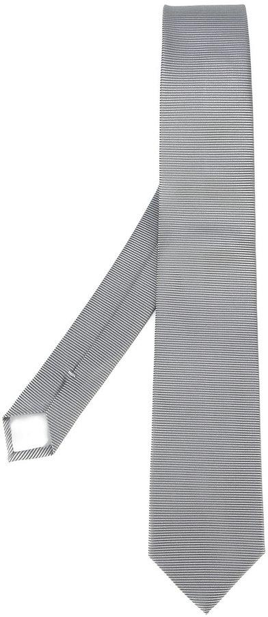 Hugo BossBoss Hugo Boss horizontal stripe tie