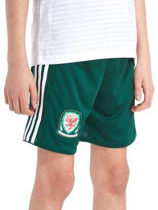 adidas Wales Away 2018/19 Shorts Junior