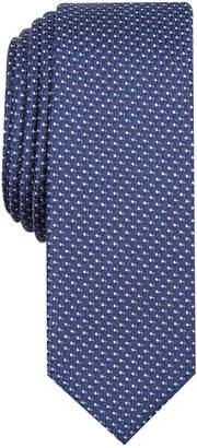 INC International Concepts Men Precious Metal Micro Neat Skinny Tie