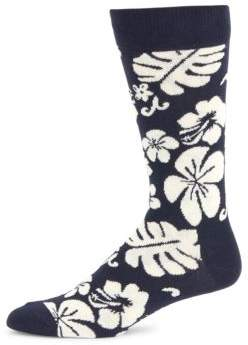 Happy Socks Hawaii Floral Socks