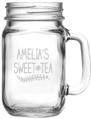 Susquehanna Glass Personalized 16 Oz. Sweet Tea Drinking Jar