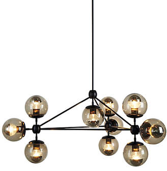 Design Within Reach Modo Chandelier, 3 Sided, 10 Globes