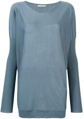 Mantu boxy knitted top