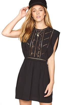 Amuse Society After Hours Lace Inset Dress