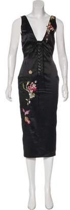 Mandalay Sleeveless Midi Dress