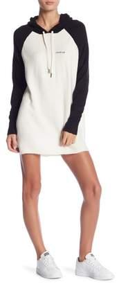 Romeo & Juliet Couture Raglan Knitted Hoodie Sweater Dress