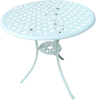 Channel Enterprises Outdoor Dining Tables Andrea Outdoor Table, White