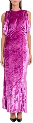 ATTICO Velvet Mermaid Dress