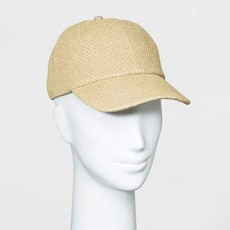 Universal Thread Women's Baseball Hat Natural