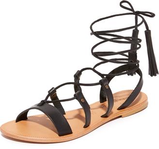 Joie Saburo Wrap Sandals $198 thestylecure.com