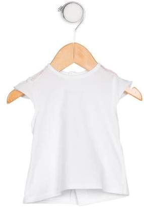 Burberry Girls' Logo Sleeveless Top
