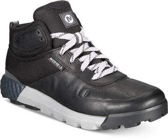 Merrell Men's Lightweight Leather Mid Casual Boots Men's Shoes