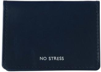Vida Vida No Stress Navy Leather Travel Card Holder