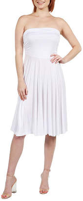 24/7 Comfort Apparel Sleeveless A-Line Dress