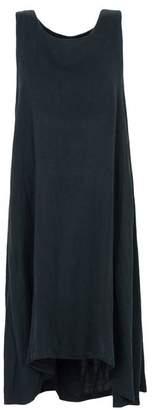 Black Crane Knee-length dress