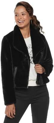 Disney Disney's The Nutcracker Juniors' Collection Faux-Fur Moto Jacket