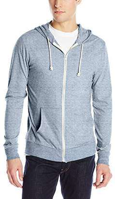 Threads 4 Thought Men's Triblend Jersey Zip Hoodie