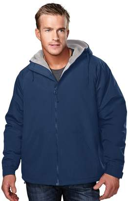 Tri-Mountain Men's Big And Tall Hooded Jacket