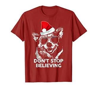 Corgi Do Not Stop Believing Classic Christmas Shirt