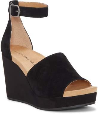 Lucky Brand Yemisa Wedge Ankle Strap Sandal