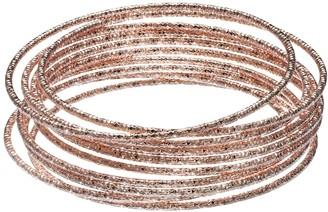 Lauren Conrad Textured Bangle Bracelet Set