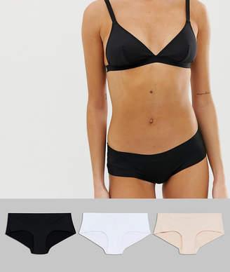 6f2530bb43c0 New Look 3 Pack Essentials No VPL Short