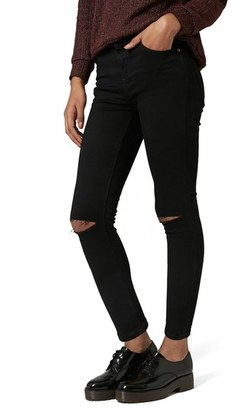 Women's Topshop Moto 'Jamie' Ripped Skinny Jeans $80 thestylecure.com